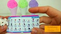 Spielen Schaum Eis Überraschung Spielzeug für Kinder lernen Farben Spielzeug Kinder-TV