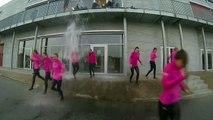 Crazy Cheerleaders Water Prank, Cheerleaders Gets Water Dumped in Water Prank