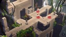 Lara Croft GO: The Maze of Snakes - iOS / Android - Walkthrough Gameplay