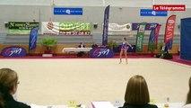 Gymnastique rythmique. 1/2 finale zone ouest : 265 gymnastes en compétition pour les championnats de France
