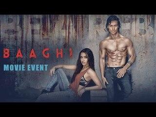 Baaghi Full Movie Event 2016   Tiger Shroff, Shraddha Kapoor   All Promotions