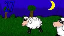 contando carneiros - contar até cem - menos de cinco minutos