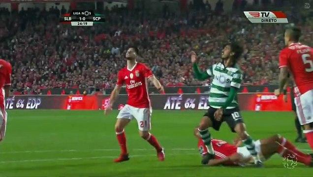 Eduardo Salvio Goal HD - Benfica1-0Sporting 11.12.2016