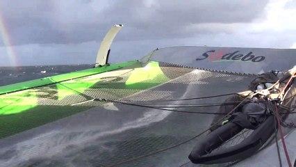 Tour du Monde Sodebo J+35 - La 13ème vidéo du bord après 4 jours d'Atlantique Sud