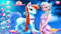 Elsa Pony Caring - Frozen Elsa Games - Frozen Elsa Pony Care Game for Girls