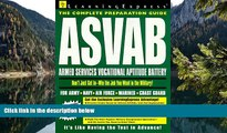 Buy Learning Express Editors ASVAB: Armed Services Vocational Aptitude Battery: The Complete