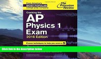 Buy NOW  Cracking the AP Physics 1 Exam, 2016 Edition (College Test Preparation) Princeton Review