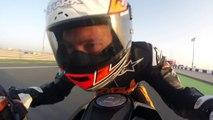 Qatar onboard with Jeremy McWilliams & the KTM 1290 SUPER DUKE R | KTM