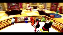 Minnie Mouse, Mickey Mouse, and Donald Duck have a bubble bath / Nursery Rhymes Playlist for kids