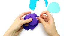Play-Doh Inside Out Sadness, How to Make Inside Out Sadness with Play Dough
