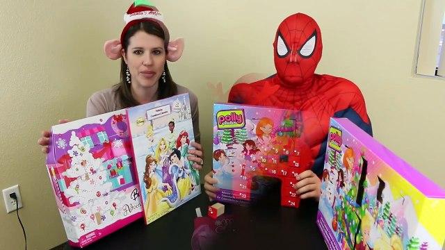 The Little Mermaid Ariel Gets Barbie Advent Calendar Surprise Toys 24 Days Christmas DisneyCarToys