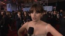 'Rogue One: A Star Wars Story' World Premiere: Felicity Jones