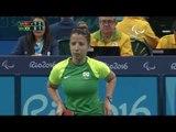 Table Tennis   TUR V BRA   Women's Singles - Class 9   Rio 2016 Paralympic Games