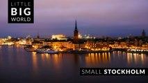 Small Stockholm (4k - Time Lapse - Tilt Shift)