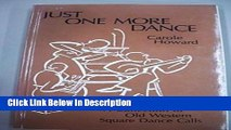 PDF Just One More Dance: A Collection of Old Western Square Dance Calls Audiobook Online free