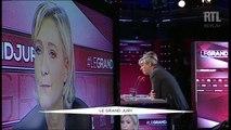 Marine Le Pen, invitée du Grand Jury