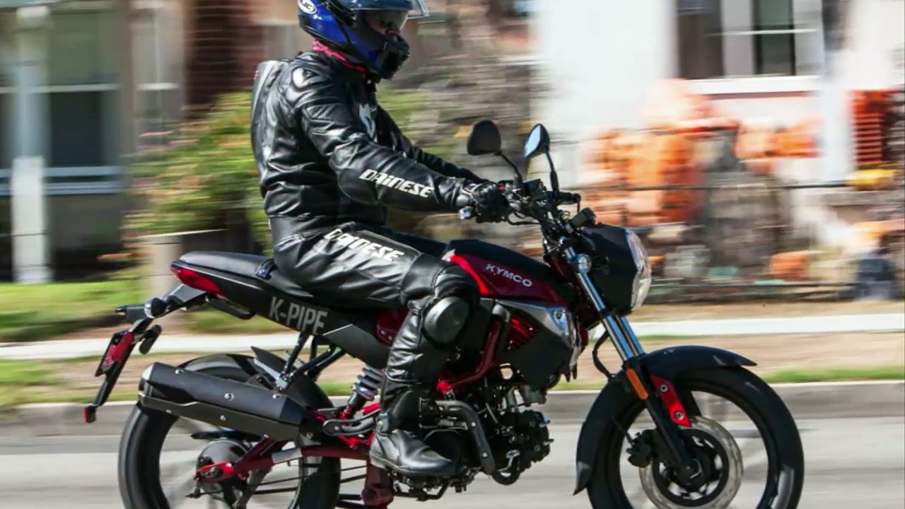 Kymco K-Pipe 125 Review