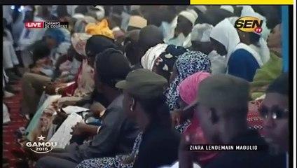 Vidéo-Ziara Lendemain Mawlid 2016 : Les prédictions de Serigne Moustapha Sy!!