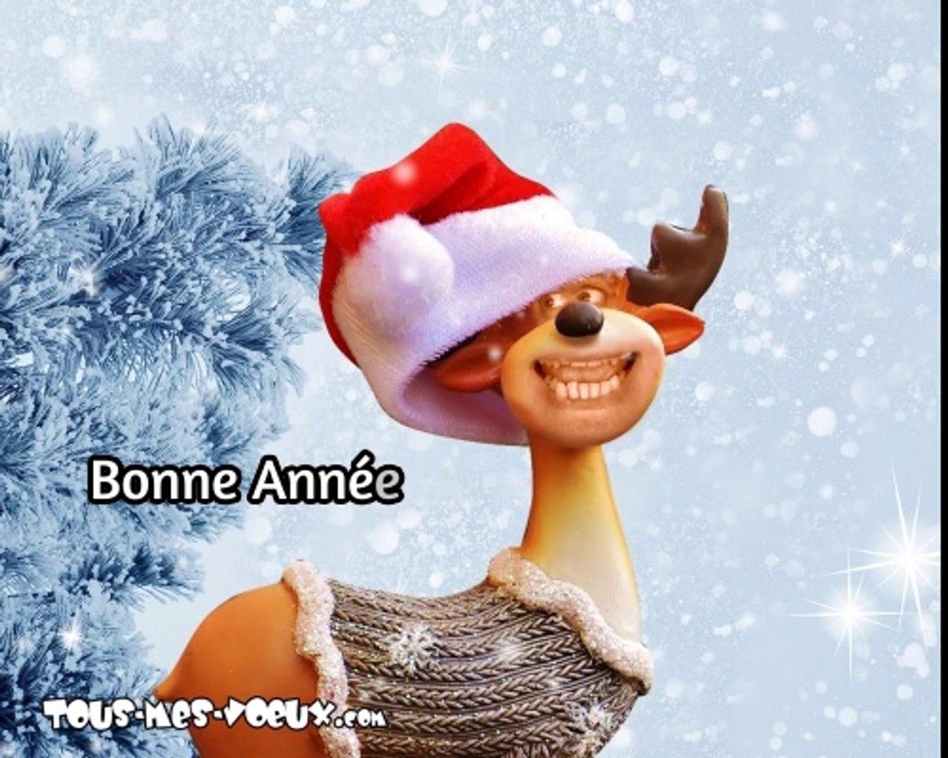 La chanson de la bonne année, bonne année humour, carte voeux