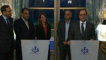 Déclaration avec les Présidents de Médecins sans frontières France (MSF), de Médecins du monde France (MDM) et de l'Union des Organisations de Secours et Soins Médicaux France (UOSSM), ONG médicales françaises et internationales actives en Syrie