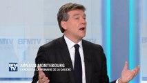 """Montebourg: Valls et Peillon sont """"deux frères du hollandisme qui se disputent l'héritage"""""""