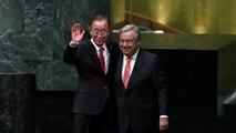 Portugiese Antonio Guterres als UN-Generalsekretär vereidigt