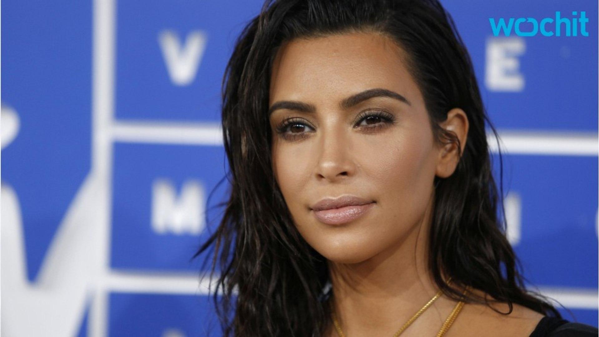 Kim Kardashian Makes A Sexy Comeback in Lingerie