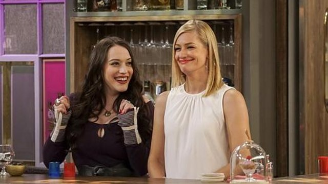 Watch now 2 Broke Girls Season 6 Episode 10: And the Himmicane