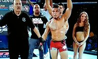 Damn - MMA Fighter Accidently Punches Ring Girl In The Face After Learning He Lost The Fight!