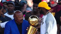 Jim Brown describes LeBron James as a 'unique champion'