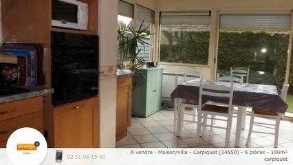 A vendre - Maison/villa - Carpiquet (14650) - 6 pièces - 100m²
