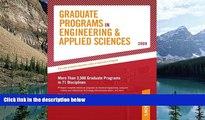 Online Peterson s Grad Guides BK5: Engineer/Appld Scis 2009 (Peterson s Graduate Programs in