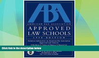 Price Aba Approved Law Schools 1998 (ABA/LSAC Official Guide to ABA-Approved Law Schools) The