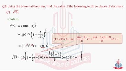 Math Chapter 8.3 Part 03
