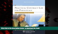 Pre Order Practical Contract Law for Paralegals: An Activities-Based Approach, Third Edition
