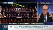 La chronique d'Anthony Morel: Des concerts en hologrammes de chanteurs décédés - 12/12