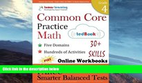 Buy  Common Core Practice - Grade 4 Math: Workbooks to Prepare for the PARCC or Smarter Balanced