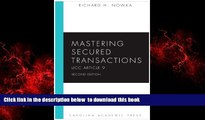 Audiobook Mastering Secured Transactions (UCC Article 9), Second Edition (Carolina Aademic Press