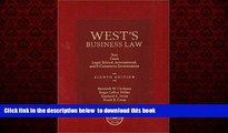 Audiobook West s Business Law: Text and Cases--Legal, Ethical, Regulatory, International and