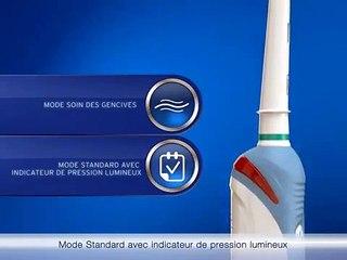 Oral-B Pro 2000 - Brosse à dent 2 fonctionnalités pour de meilleurs résultats.