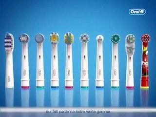 Brossette Oral-B CrossAction - Pénètrent les espaces inter-dentaires