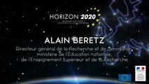 3e Forum Horizon 2020 : discours d'Alain Beretz