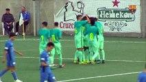 [HIGHLIGHTS] FUTBOL (Juvenil A): Ferriolense - FC Barcelona (1-4)
