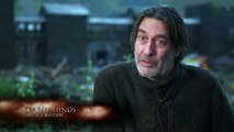 Game Of Thrones S5: E#1 - Kit Harington & Ciarán Hinds On Mance Rayder (hbo)
