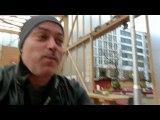 Michael Roscher in Frankfurt am Main beim Gheothe Platz 2 Buch Vorlesung
