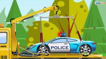 The Fire Truck and The Tow Truck   Emergency Vehicles Kids videos   Cars & Trucks cartoons