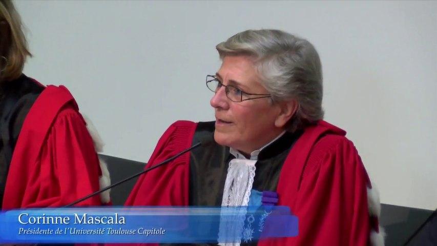 ESL Day 2016 - Rentrée solennelle_01-Corinne Mascala, Présidente de l'Université Toulouse 1 Capitole