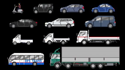 Street Vehicles 3 - Cars & Trucks - The Kids' Picture Show (Fun & Educational Learning Video)