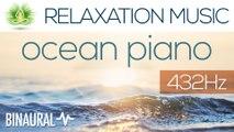 "Alpha Waves Relaxing Music ""Ocean Piano"" | Binaural Beats | 432 Hz | Gaia Meditation"