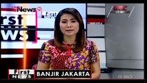 Diguyur Hujan Deras, Sejumlah Jalan di Jakarta Terendam Banjir